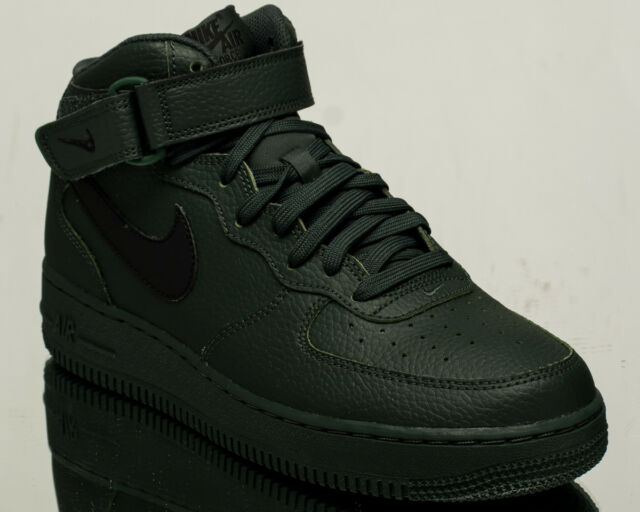 sports shoes 8cd80 e8e32 Nike Air Force 1 Mid 07 AF1 men lifestyle sneakers NEW grove green  315123-303
