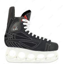 40 Iceskate schwarz rot M/&L Sport t´24 Eishockey Schlittschuh Gr Unisex