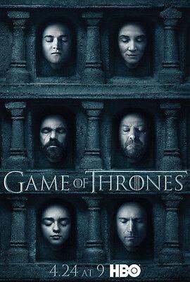 Game of Thrones Season 6 TV Series poster A3 / A4