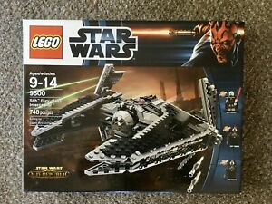 LEGO-Star-Wars-9500-Sith-Fury-class-Interceptor-New-Factory-Sealed