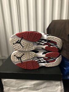 fc7f38d2161ab0 Nike Air Jordan Retro 8 VIII Alternate Bred Black Gym Red Wolf Grey ...