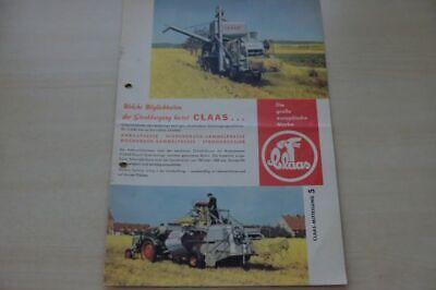199231) Claas - Mitteilung Nr.5 - Prospekt 195? Reines Und Mildes Aroma