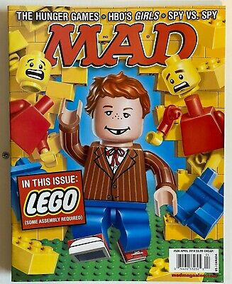 MAD MAGAZINE #526 Apr 2014 NM Never on Newsstand Hunger Games Lego HBO/'s Girls