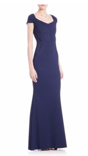 cbd33848 La Petite Robe Di Chiara Boni Navy Blue Dagmara Long Gown 8 for sale ...