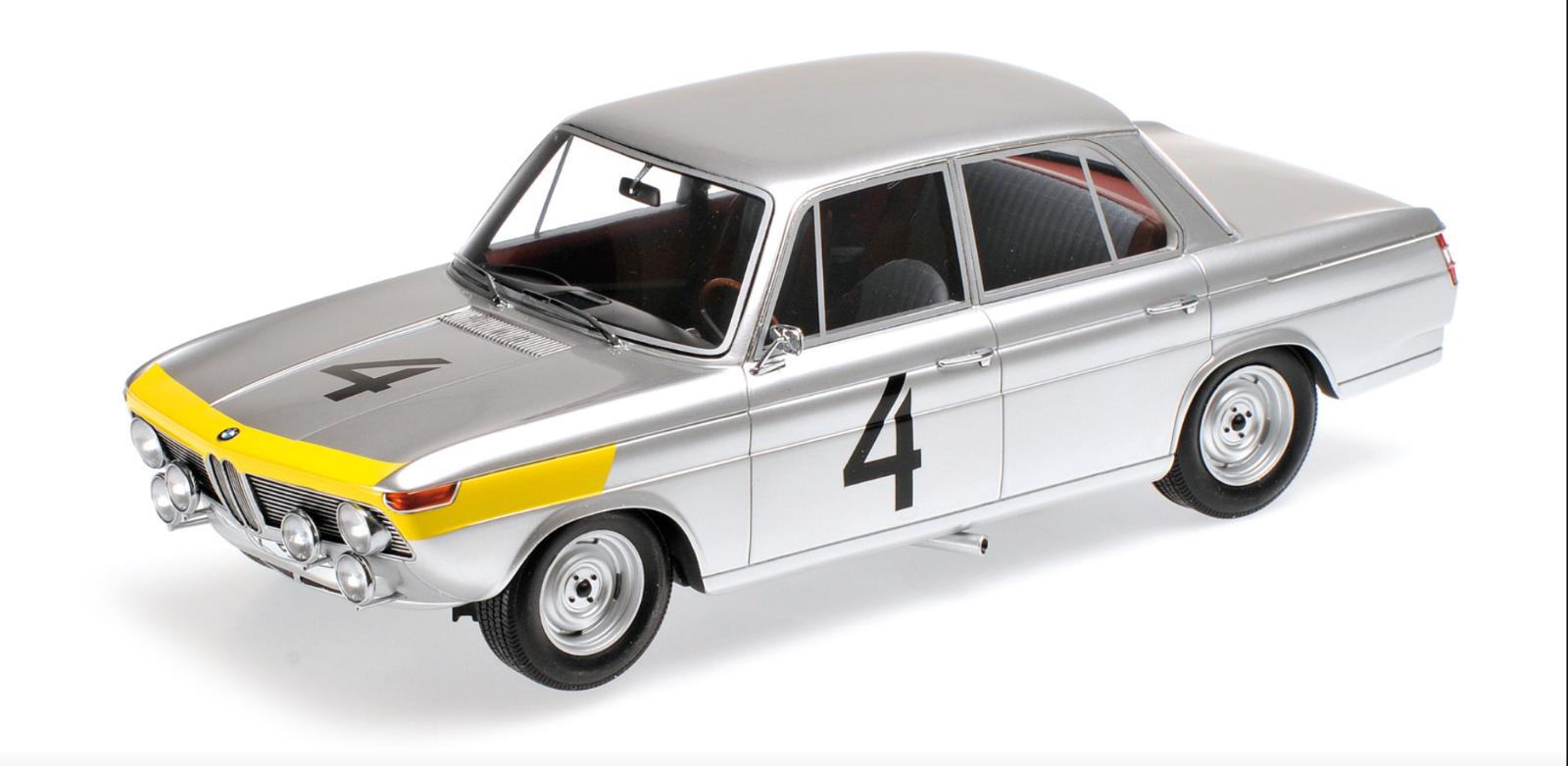 1 18 BMW 1800 Tisa n°4 Spa 1965 118 • MINICHAMPS 107652504