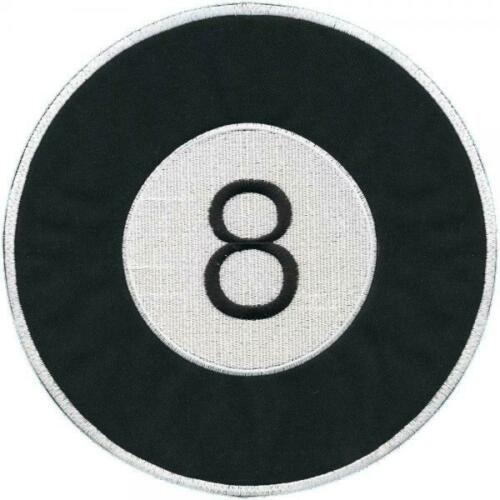 Espalda Patch-bola de billar nº 8-08602-talla aprox 24,5cm