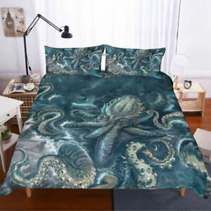 Many Twilight Paws 3D Quilt Duvet Doona Cover Set Single Double Queen King Print