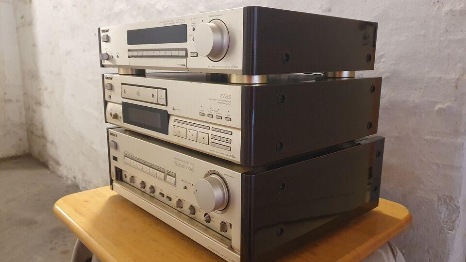 Forstærkersæt, Sony, F 770 ES