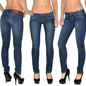 damen jeans damen hose damen jeanshose skinny roehre push up effekt. Black Bedroom Furniture Sets. Home Design Ideas