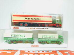 Bn24-0-5-2x-Wiking-h0-1-87-CAMION-Bussing-173621-heimbs-849-Gulden-vino-Neuw-OVP
