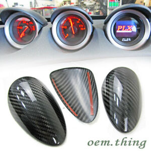 Carbon Fiber Dry For Nissan 370z Z34 Coupe Interior Gauge