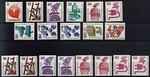 Berlin de 1971-1873 ** Poste série complète de prévention des accidents!-g!afficher le titre d`origine xNbrpZ6A-07155810-727939102