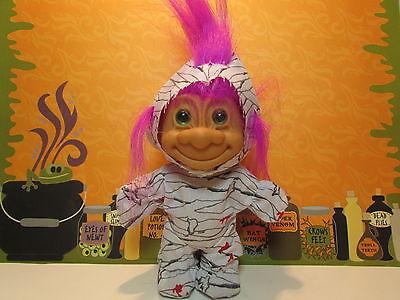 "5/"" Russ Troll Doll NEW IN ORIGINAL WRAPPER HALLOWEEN MUMMY"
