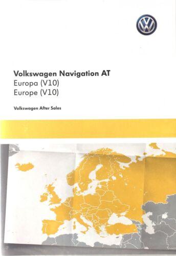 Originales de VW volkswagen tarjeta SD Europa material cartográfico discover media 5 g 0919866 a *