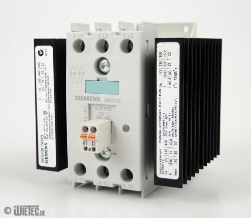 Siemens 3RF2430-1AB45 Halbleiterschütz Sirius 3-phasig AC51 30A