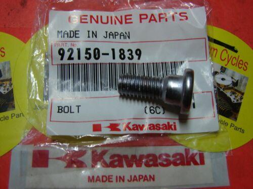 Kawasaki NOS NEW 92150-1839 Socket Bolt 8x20 EX KL KX ZR ZX EX250 1992-2007