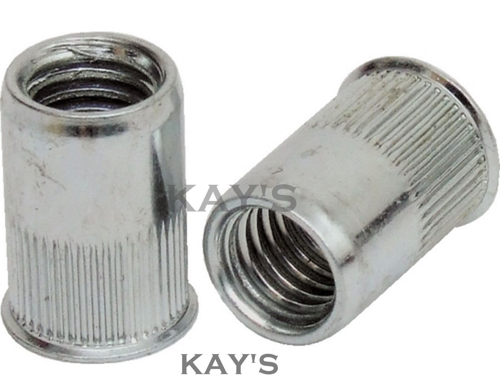 STAINLESS STEEL COUNTERSUNK RIVNUTS RIVET NUTS THREADED INSERTS M4 M5 M6 M8 M10