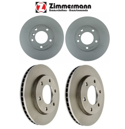 For BMW F30 F31 320i 328i xDrive Set of Front /& Rear Brake Rotors Zimmermann