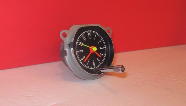 1967 1968 67 68 Shelby Mustang Dash Clock RESTORED !!! + 3