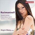 Rachmaninoff: Moments musicaux; tudes-tableaux, Op. 33; Variations on a Theme of Corelli (CD, May-2012, Chandos)