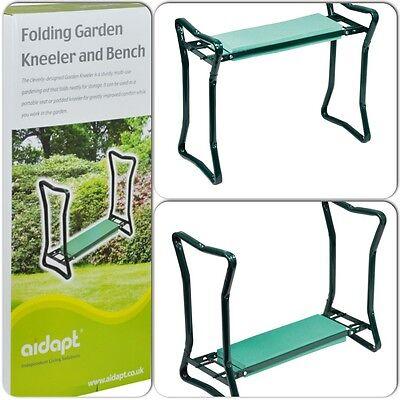 Folding Portable Outdoor Garden Gardening Kneeler And