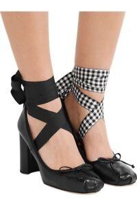 assolutamente alla moda qualità del marchio numerosi in varietà Details about NWB Beautiful Miu Miu lace up ballerina pump black EU 37 US 7