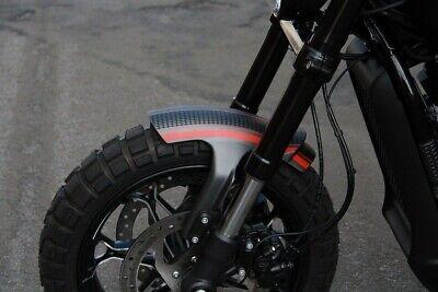 Cafe Racer Drag Short//Bobbed Vented Front Fender For 2019 Harley Davidson FXDR