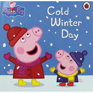 Peppa-Pig-Story-Book-COLD-WINTER-DAY-NEW