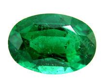 Smeraldo naturale ct. 0.5/0.6 - mm. 5,5 / 6.5 natural emerald oval cut