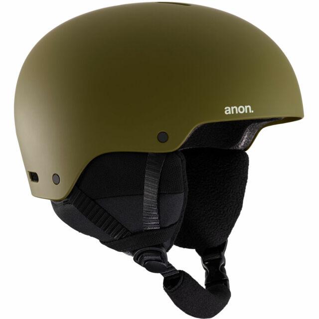 anon Raider 3 Herren Snowboardhelm Skihelm Helm + Verstellrad Größenverstellung
