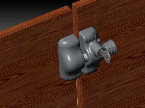 Pool Gate Latch AUS DESIGN Side Pull MAGNETIC GATE LATCH Key Lockable