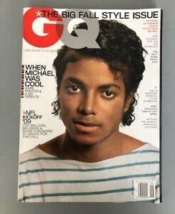 GQ Magazine Michael Jackson NFL Brooklyn Decker Ryan Kwanten Vladimir Putin 2009