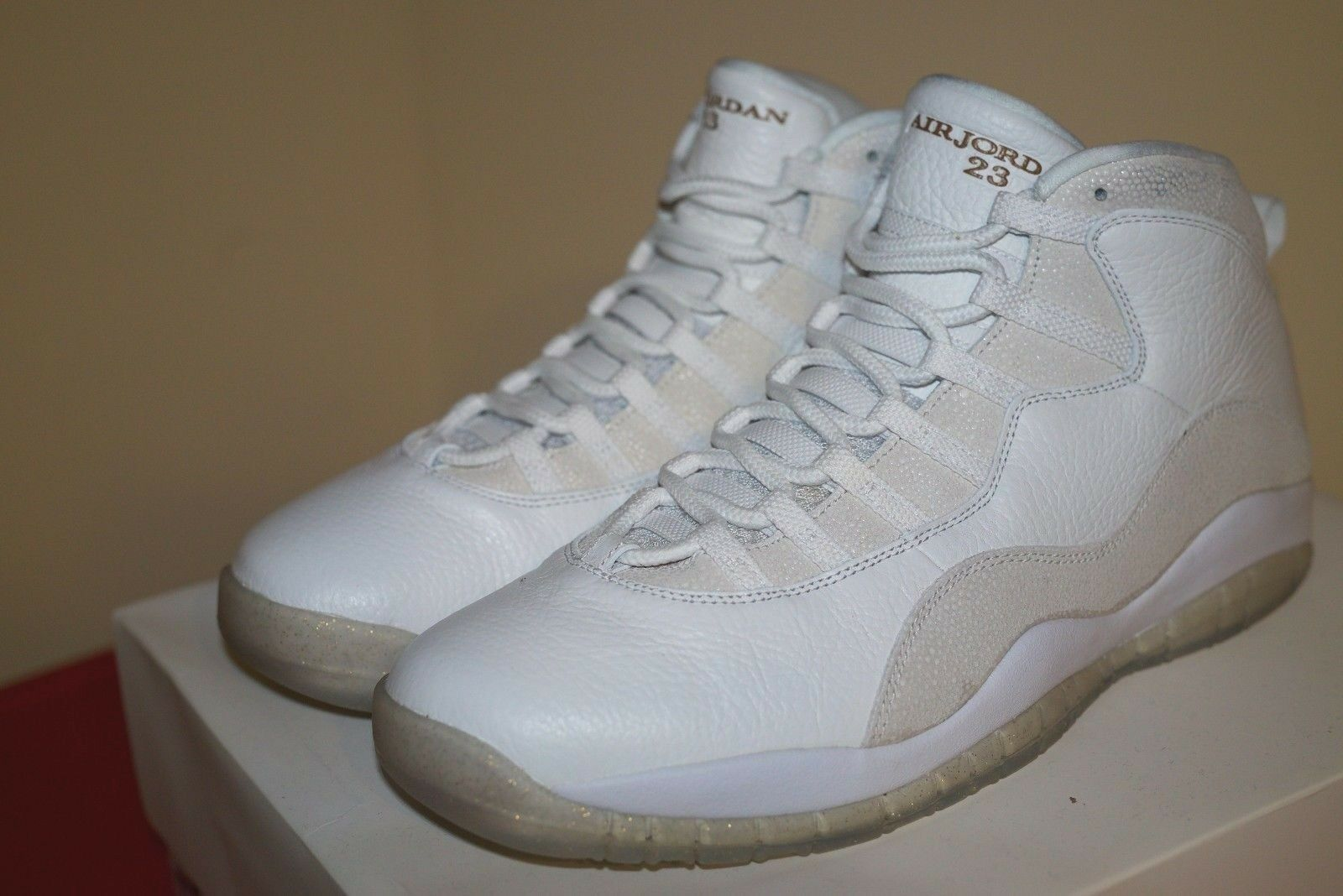 Air Jordan Retro X OVO White Size 13