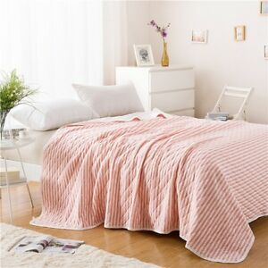 Image Is Loading Summer Cool Quilt Knitted Blended Blanket Air Conditioning