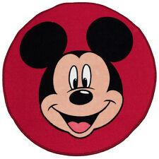 Mickey Mouse Disney Alfombra Niño Head infantil de juegos Rug nueva