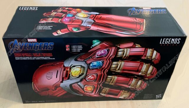 Disney Avengers Marvel Iron Man Endgame Power Gauntlet Hasbro Pre Order