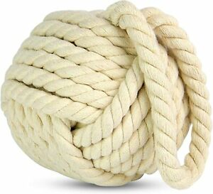 Nautical Style Rope - Knot Doorstop/Door Stop - 3 Colours