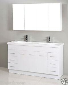 image is loading clearance sale 1800mm polyurethane bathroom vanity unit 1800 - Bathroom Vanity Units
