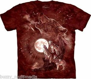 Wolf-Moon-Concert-Shirt-howling-Mountain-Brand-In-Stock-Small-5X-graphic