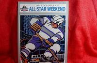 NHL 1994 All Star Game New York Program Signed by John Vanbiesbrouck