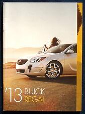 Prospekt brochure 2013 Buick Regal  (USA)