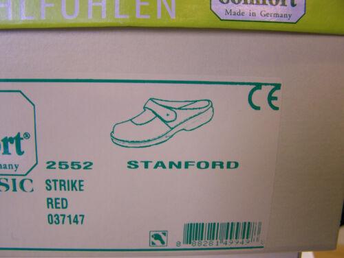 Finn Comfort Schwarz Baumwollbeutel Stanford Wechselfußbett Rot Incl rrqCxtw8