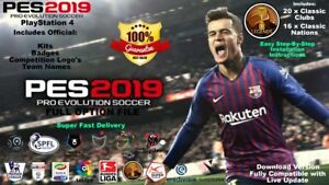 fd6362234 PES 2019 CLASSIC OPTION FILE PS4 - 100% COMPLETE WITH KITS EMBLEMS ...