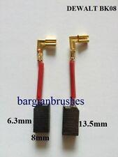 CARBON BRUSHES fits DEWALT ELU  DW423 DW443 DW682 DW887 D21160 ES55E ES56E  D29