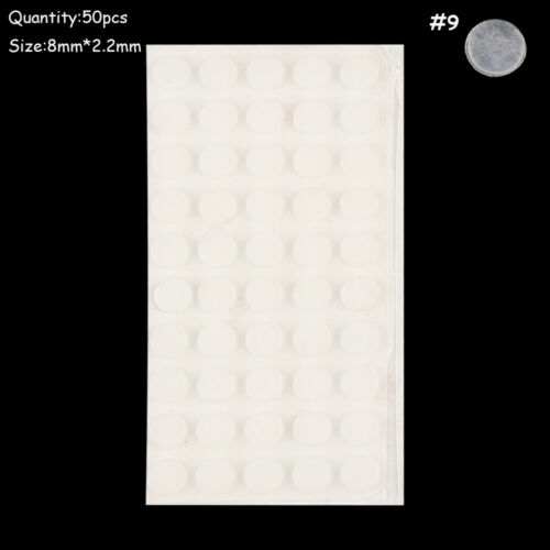 Rubber Bumper Damper Silicone Buffer Pads Self-adhesive Furniture Door Stopper
