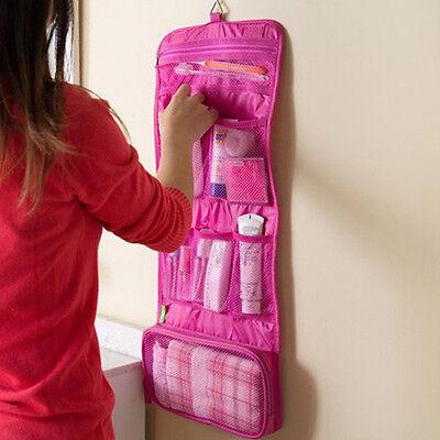 Travel Hanging Portable Waterproof Toiletry Wash Makeup Cosmetics Bag Case T168