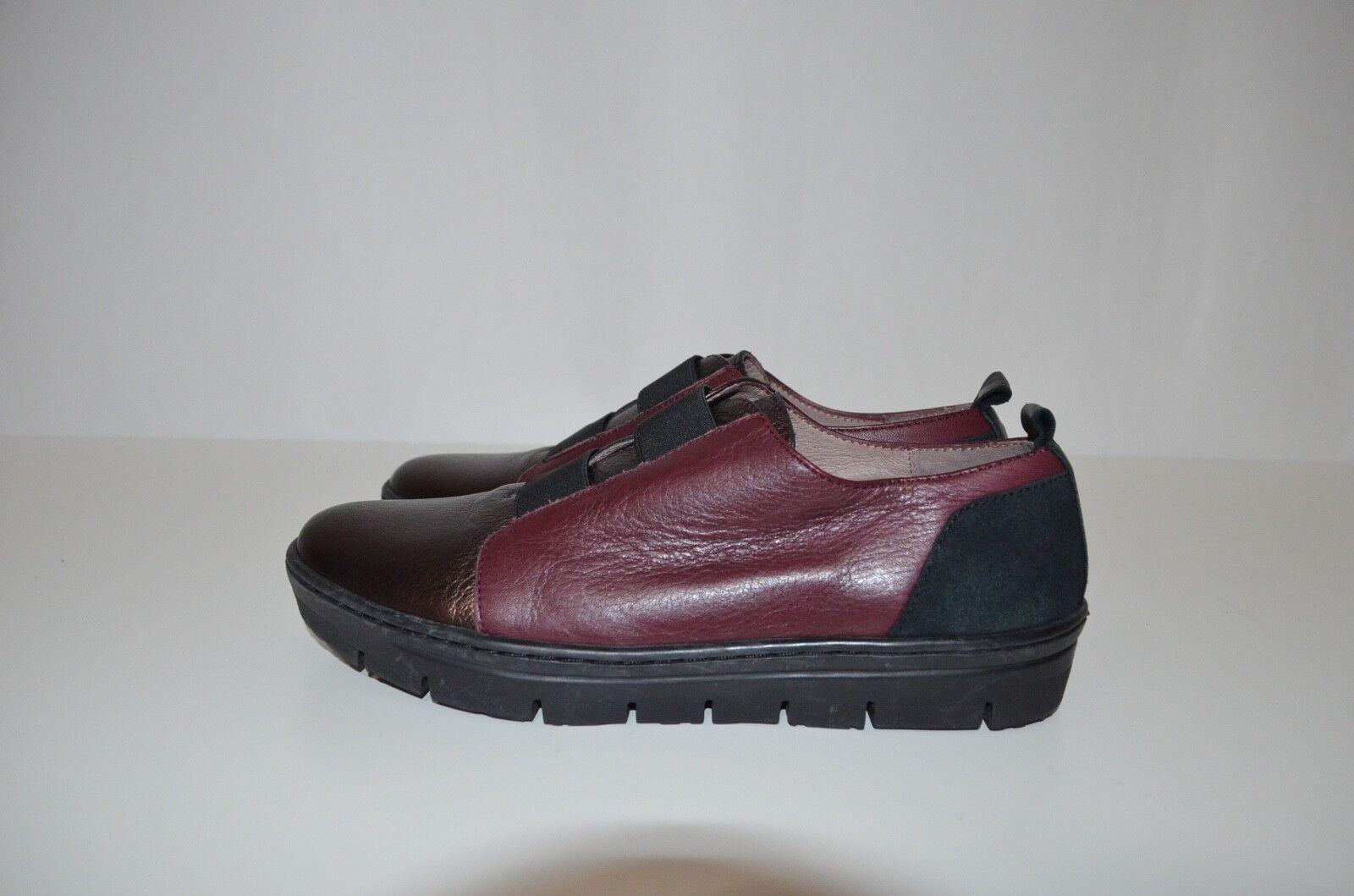 New Wonders Love Leder Sneaker Made with Love Wonders in Spain Memory Gel Größe 35 36 0a690f