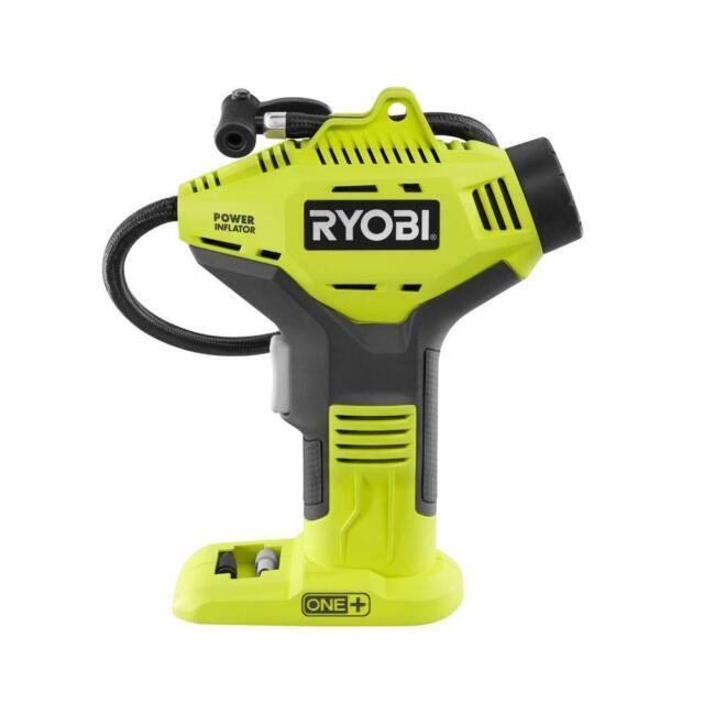 Ryobi 18V ONE+ Portable Air Compressor Cordless Tire Inflator Pump Power Tool