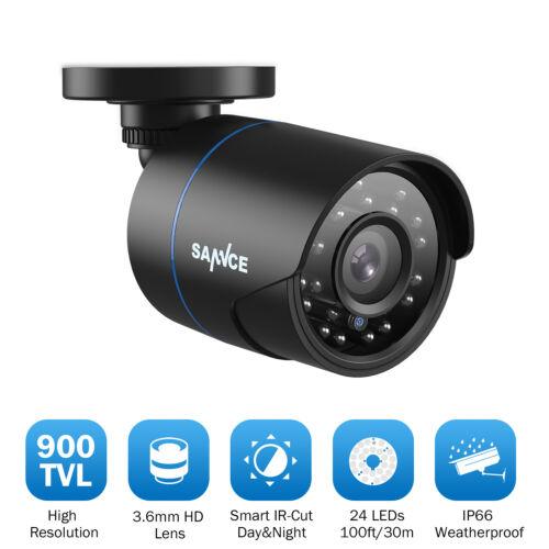 SANNCE 900TVL Aussen Innen Kamera Überwachungskamera IR Cut Nachtsicht CCTV IP66