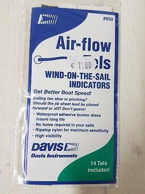 Erfinderisch Davis Segel-trimmfäden Air Flow Tels,für Vorsegel,14stk.rot/grün,ripstop,klebend Einfach Zu Schmieren Sport